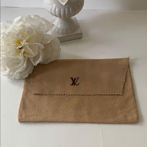 Louis Vuitton wallet dust cover